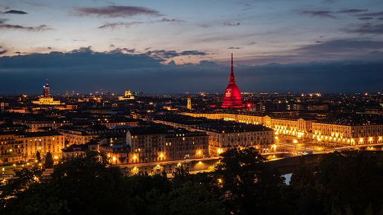 Torino gialla e rosso