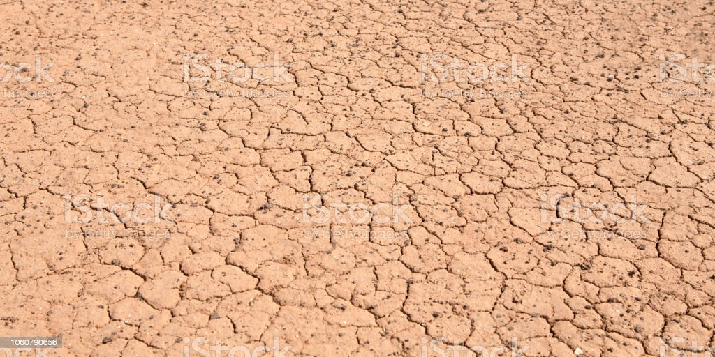torn dry ground due to prolonged drought. Nothing grows anymore
