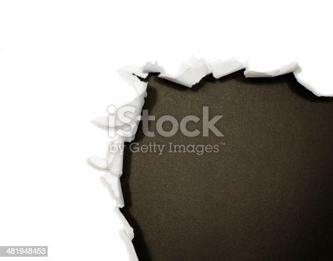 494157016 istock photo Torn paper borders 481948453