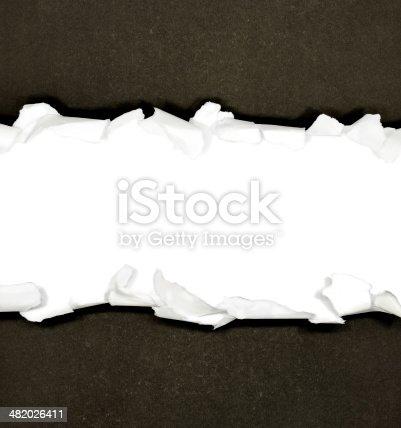 494157016 istock photo Torn paper borders 482026411