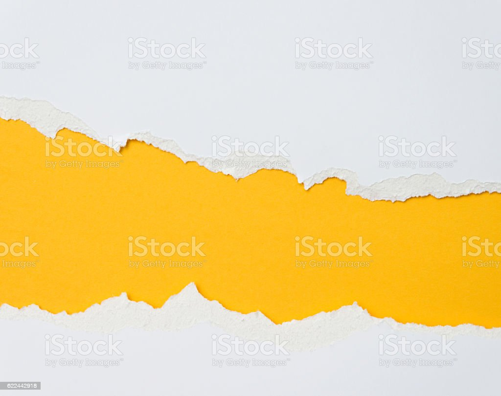 Torn paper for background - foto stock