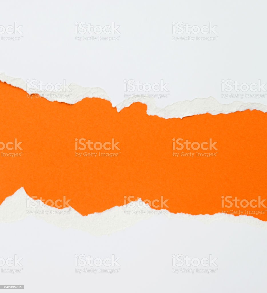 Torn paper for background stock photo