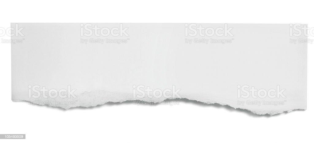 époustouflant Bannière De Papier Déchiré – Photos et plus d'images de Blanc | iStock &TZ_19