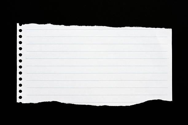 torn paper - linjerat papper bakgrund bildbanksfoton och bilder