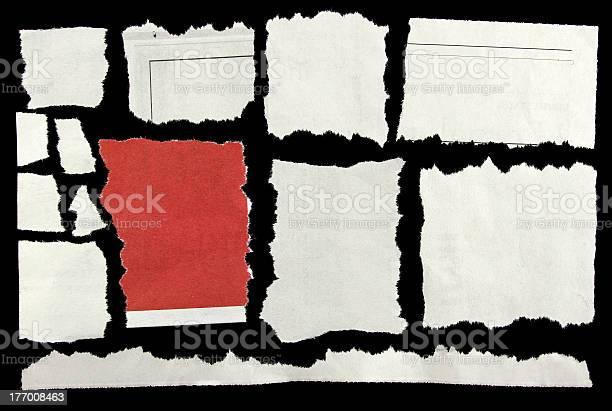 Photo libre de droit de Déchiré Papier banque d'images et plus d'images libres de droit de Art