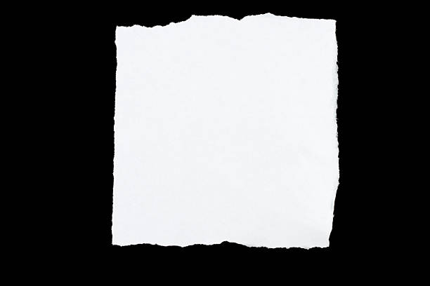Torn Paper Series: Square stock photo