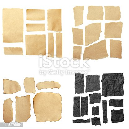 istock torn paper, space for copy 1143275654