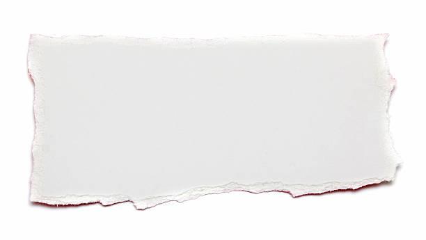 Abgerissenes Papier