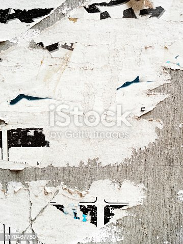 Poster Background ,Textured, Cut Or Torn Paper, Poster, Paper,Newspaper, Textured Effect,  Old,Torn, Wall - Building Feature,Street, Billboard, Sign, City Street,placard