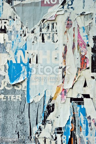 istock Torn Posters 171297101