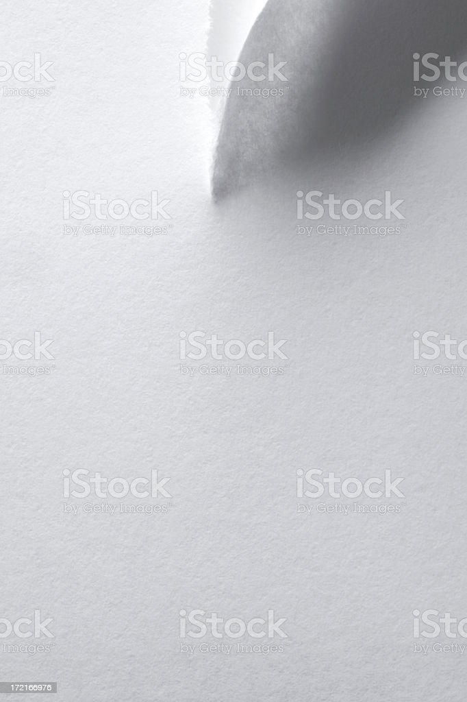 Torn Ppaer royalty-free stock photo