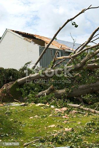 istock Tornado aftermath & destruction forces of nature - IV 176067503