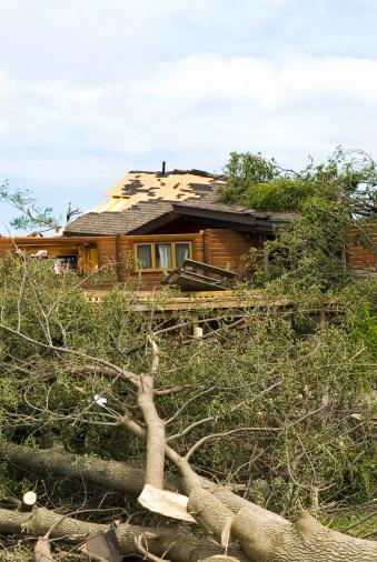 istock Tornado aftermath & destruction forces of nature - IX 176060362