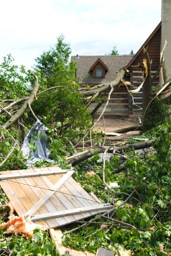 istock Tornado aftermath & destruction forces of nature - VI 176074187