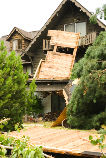 istock Tornado aftermath & destruction forces of nature - VII 157436287