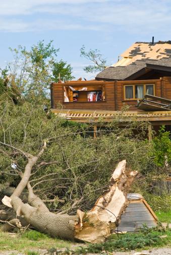 istock Tornado aftermath & destruction forces of nature - VIII 176060359