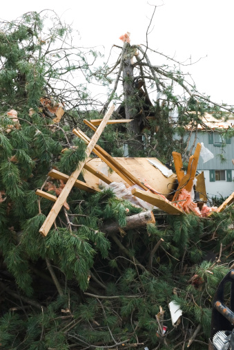 istock Tornado aftermath & destruction forces of nature - XIII 176078731