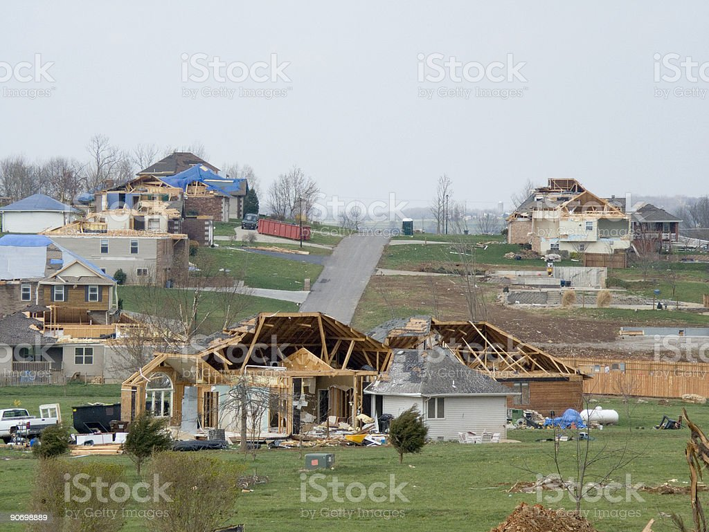 Tornado Alley-Horizontal stock photo