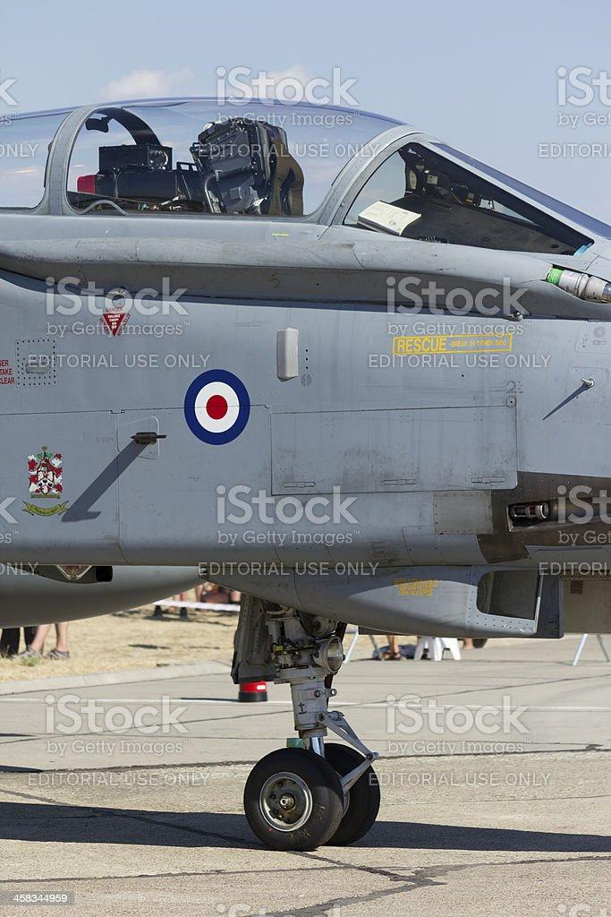RAF Tornado fighter jet royalty-free stock photo