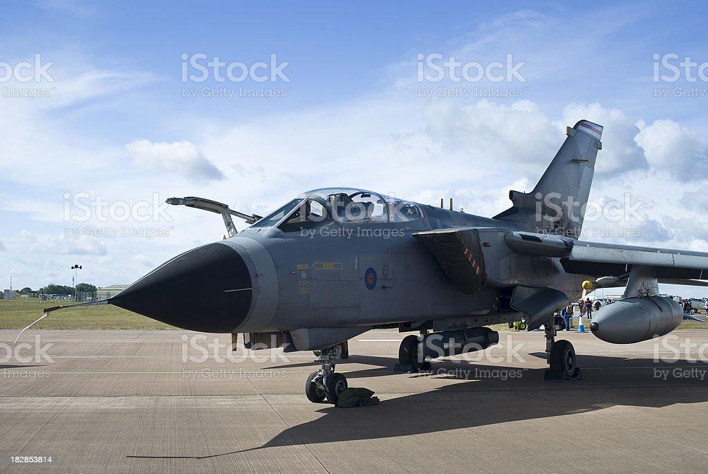 Tornado GR4 Fighter Bomber royalty-free stock photo