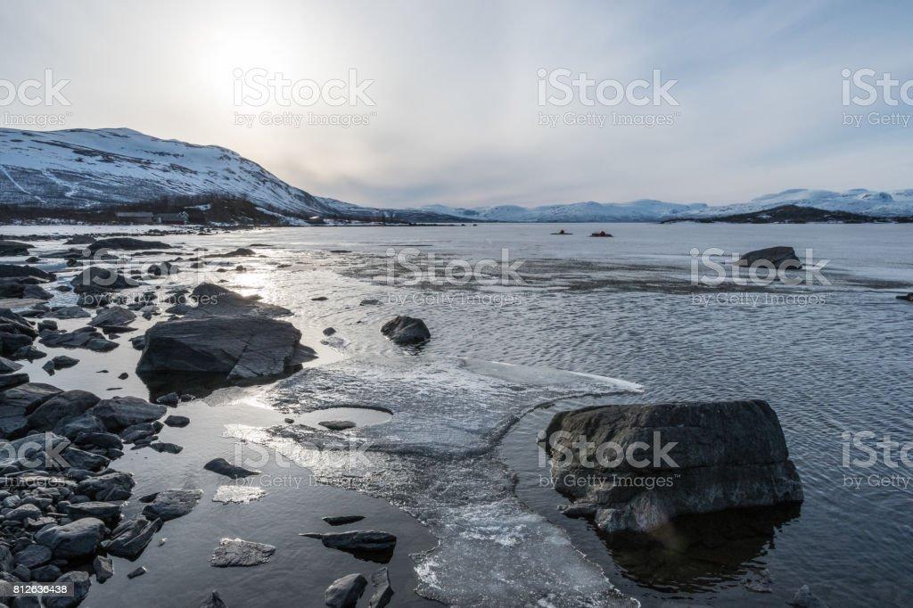 Torneträsk Eis – Foto
