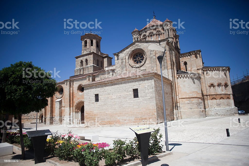 Toro Cathedral stock photo