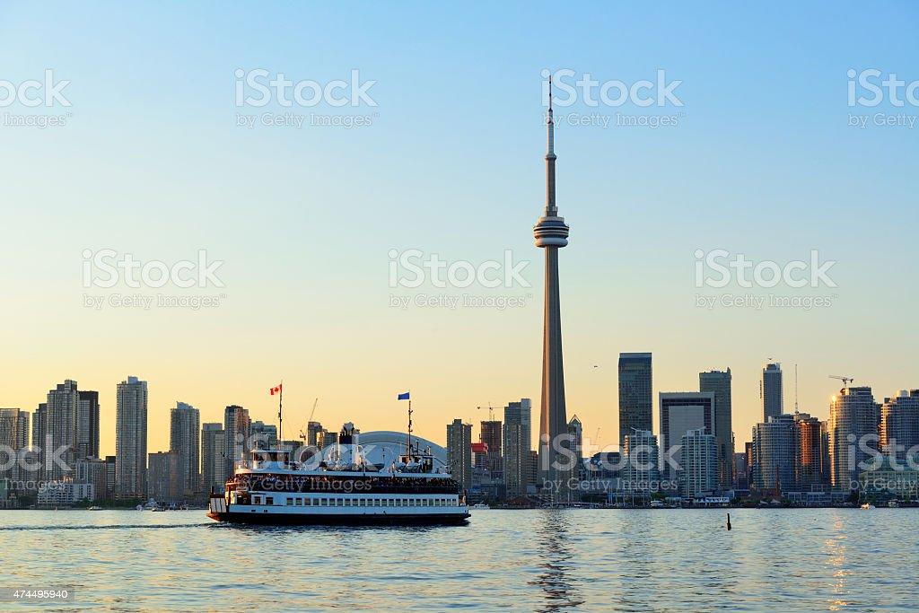 Toronto architecture stock photo