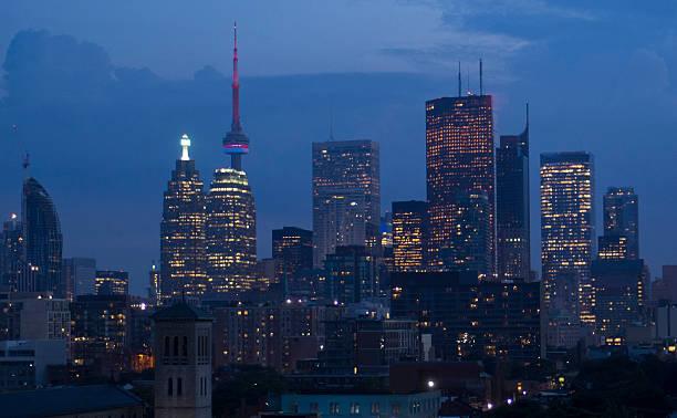 Toronto bei Nacht – Foto