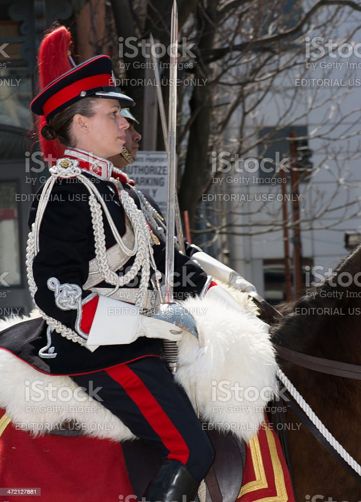 Toronto Bicentennial Commemoration Battle of York stock photo