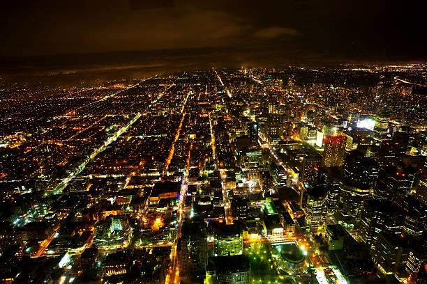 Toronto di notte - foto stock
