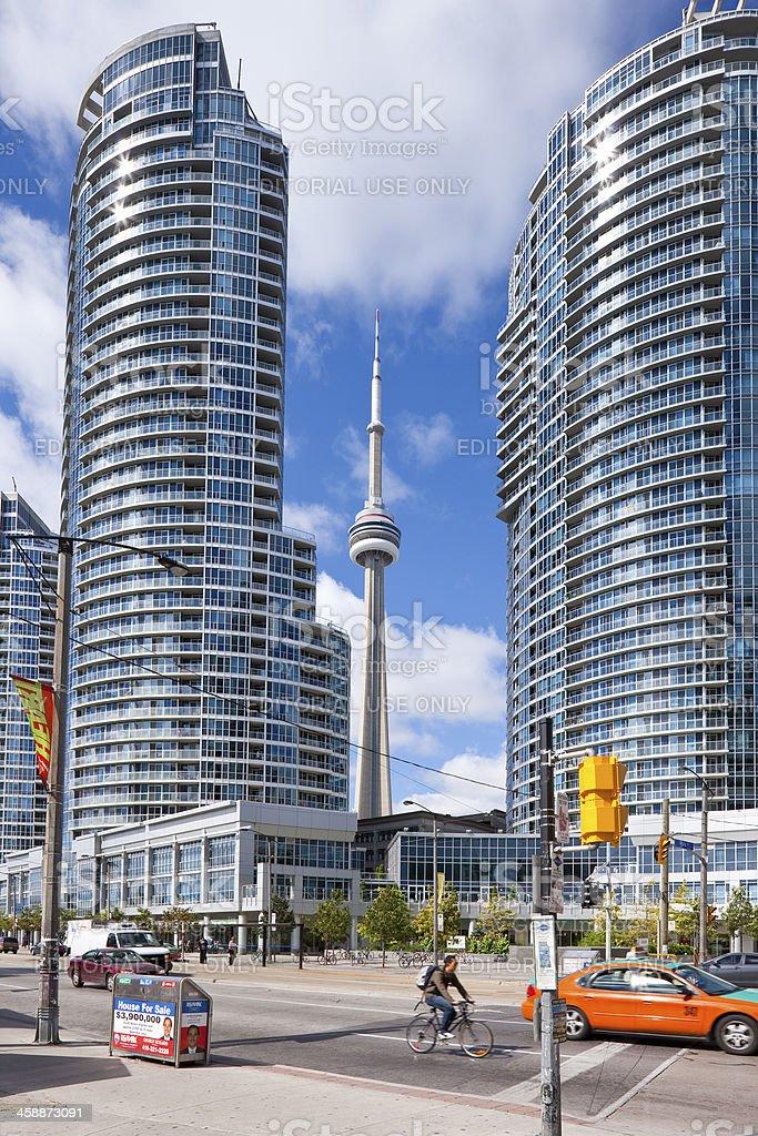 Toronto, Canada, downtown cityscape royalty-free stock photo