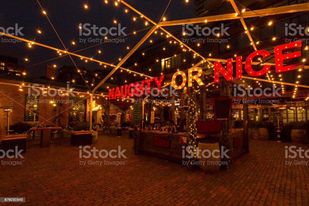 Toronto Christmas Market stock photo