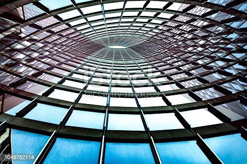 Toronto City Hall - abstract view.