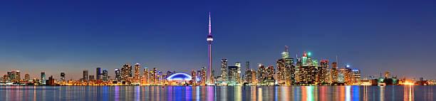 Stadtpanorama von Toronto – Foto