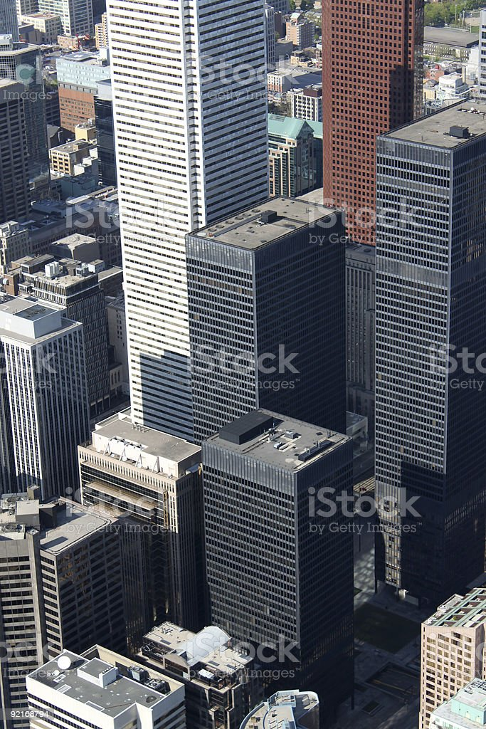 Toronto cityscape royalty-free stock photo