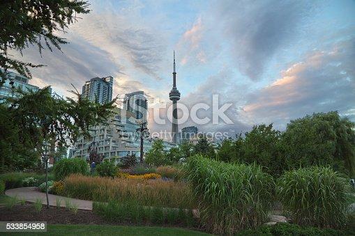 587773316 istock photo Toronto downtown 533854958