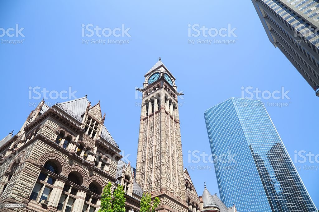 Toronto downtown stock photo