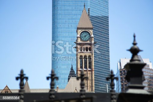 587773316 istock photo Toronto downtown 533855354