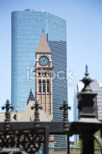 587773316 istock photo Toronto downtown 533855400