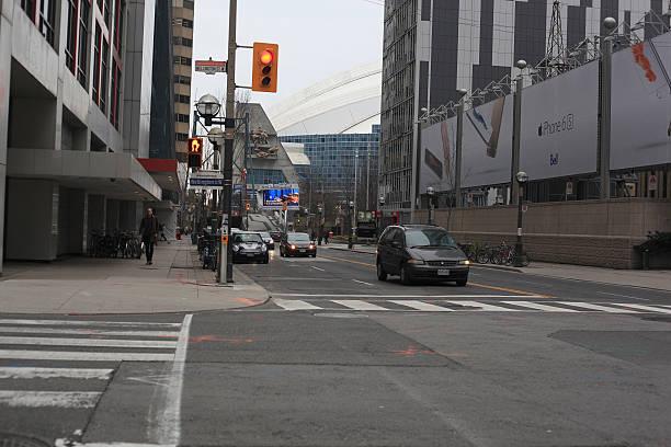 Toronto entertainment District stock photo