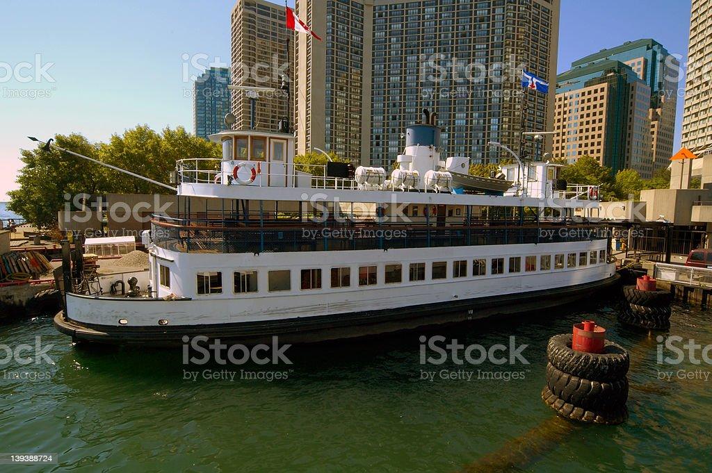 Toronto Ferry royalty-free stock photo