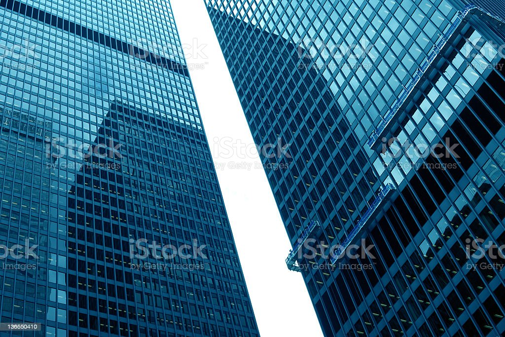 Toronto financial district royalty-free stock photo