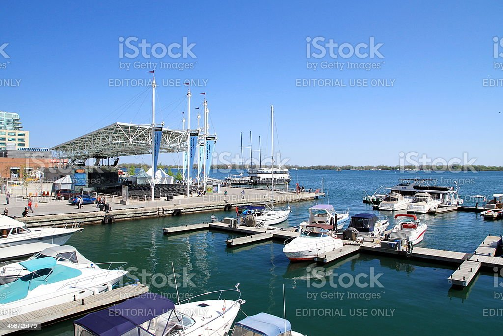 Toronto Harbourfront Centre Amphitheater royalty-free stock photo