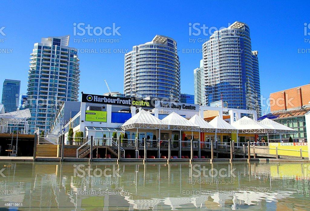 Toronto Harbourfront Centre royalty-free stock photo