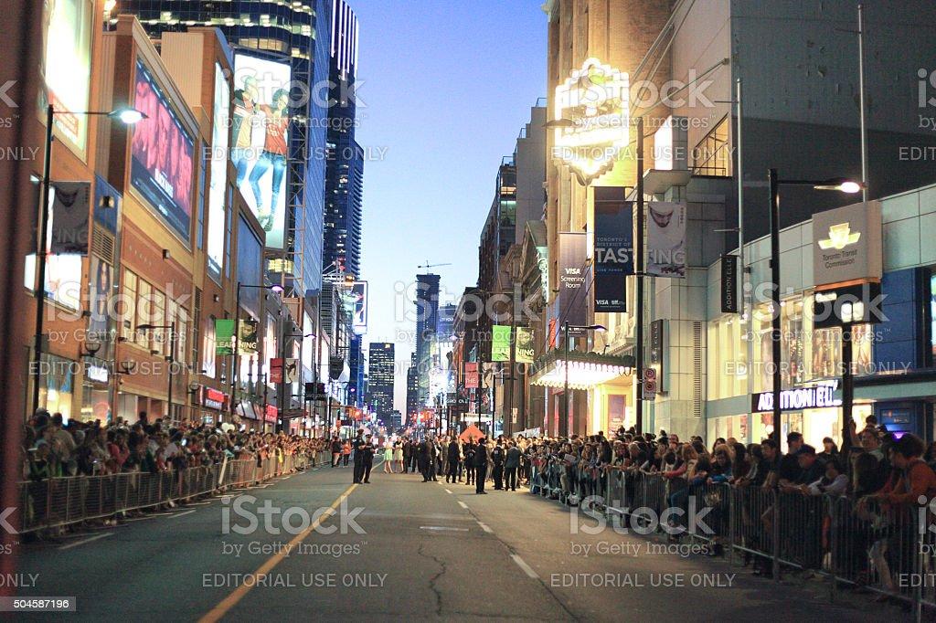 Toronto International Film Festival - Royalty-free Audience Stock Photo