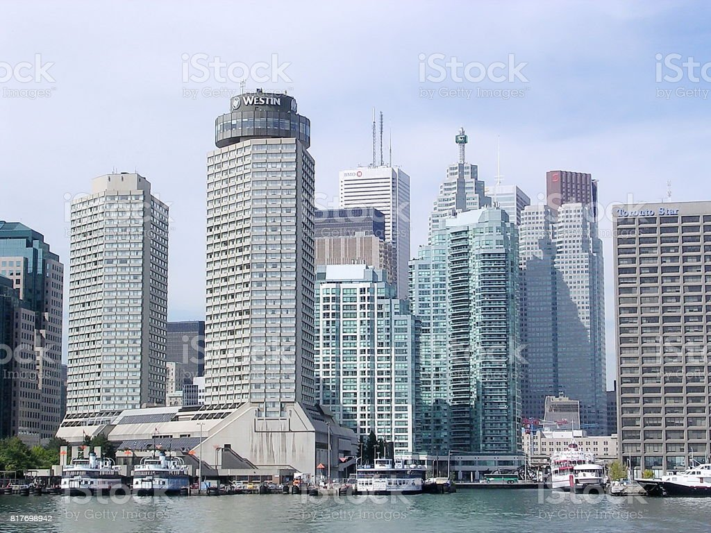 Toronto Lake Harbourfront 2004 stock photo
