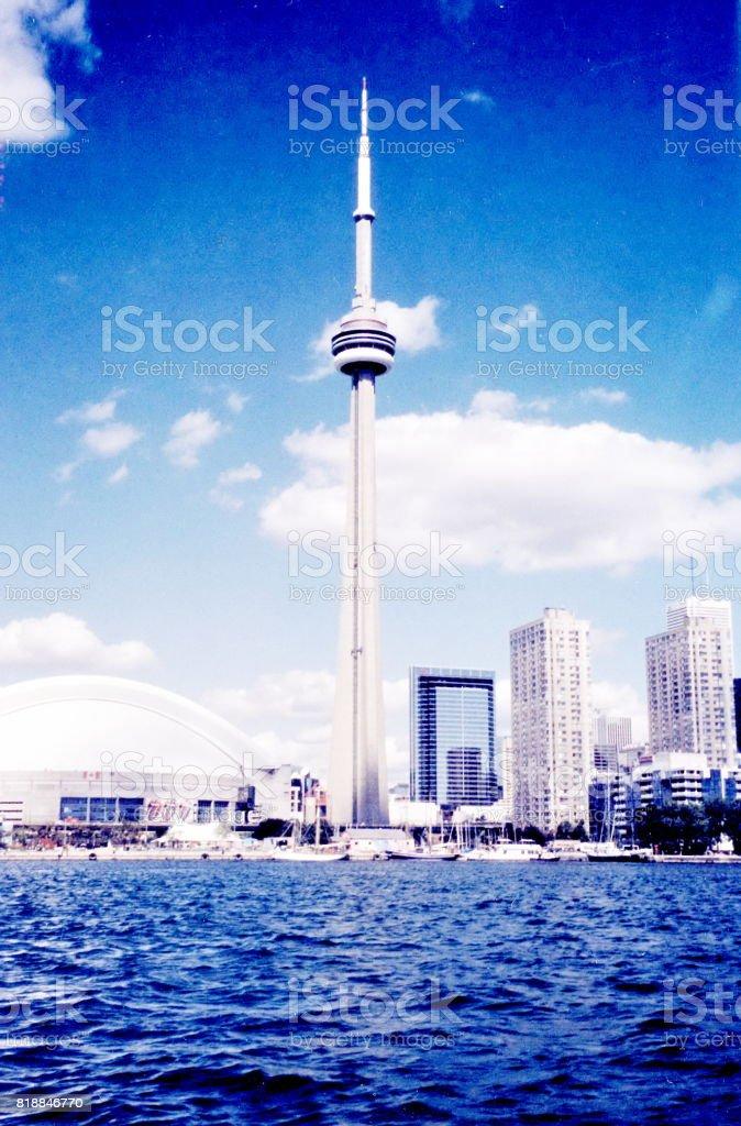 Toronto Lake The Downtown 2002 stock photo