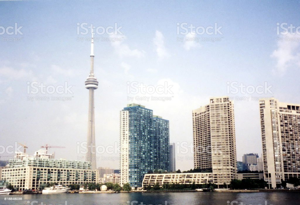 Toronto Lake The Harbour Front 2002 stock photo