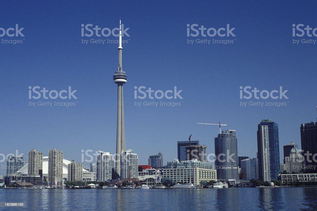 Toronto Lakeview royalty-free stock photo