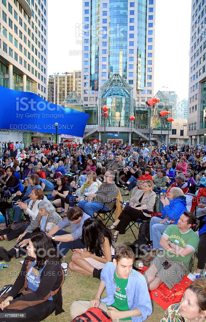 Toronto Luninato Festival royalty-free stock photo